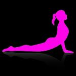Illustration déroulement étirements et échauffement en pole dance